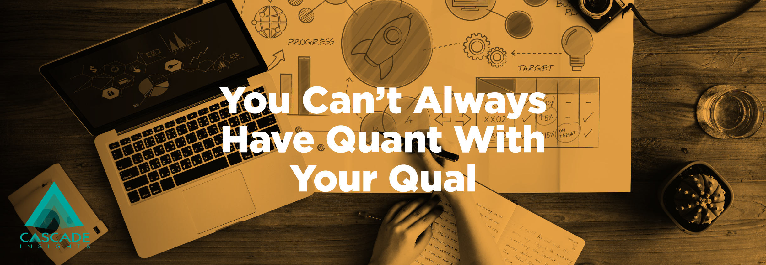 You Can't Always Have Quant With Your Qual