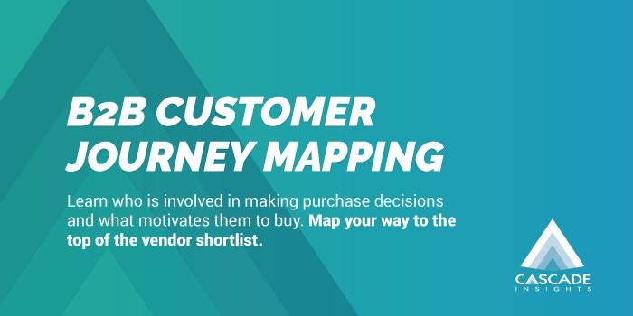 B2B Customer Journey Mapping - Cascade Insights - Market ... | 700 x 350 png 44kB