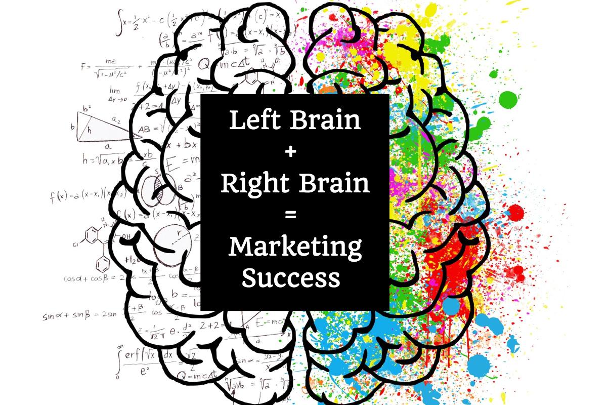 Left Brain + Right Brain = Marketing Success