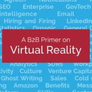 A B2B Primer: VR