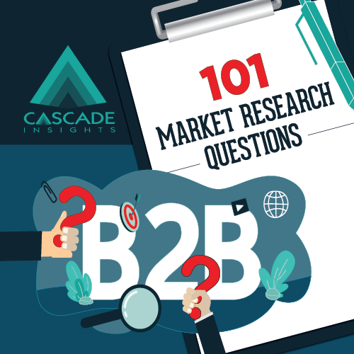 101 Market Research Questions | B2B Market Research